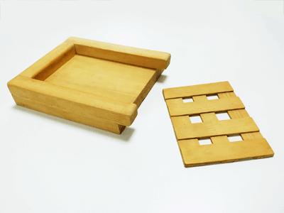 自作パン切りガイド厚さ調整板