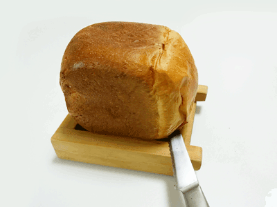 自作パン切りガイド使い方