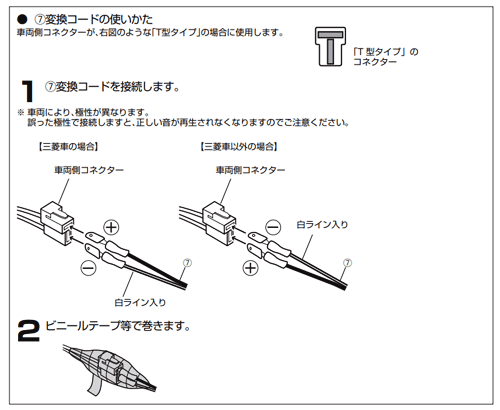 KFC-RS163S接続1