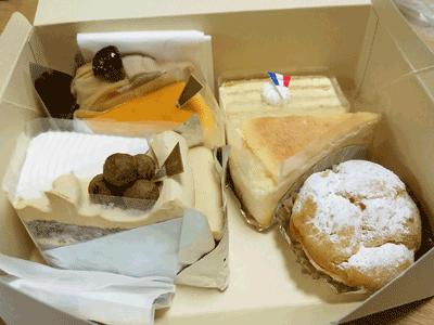 アンダンテのケーキ