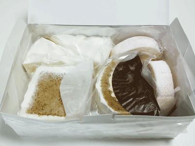 冷凍ケーキの中身