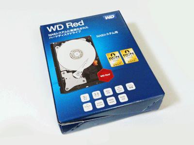 WD Red パッケージ