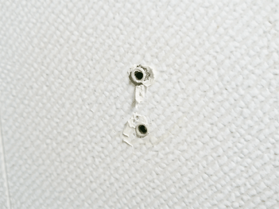 TOTO固定式シャワーフックネジ穴