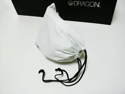 ドラゴンPXV 巾着に収納