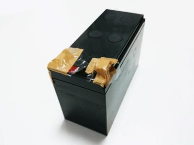 廃バッテリー 絶縁