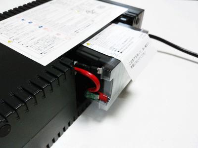 互換バッテリー 接続
